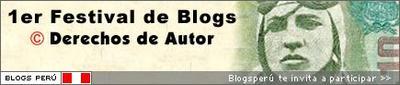 I Festival de Blogs - BlogsPerú 2005: Blogs y Derechos de Autor